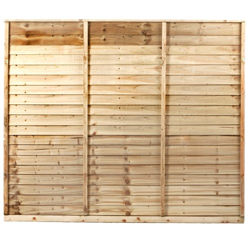 Independent Fencing  Shiplap Pressure Treated Fence Panel - 1500 x 1800mm