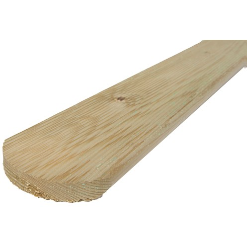Independent Fencing  Premier Round Top Fence Boards - 1200 x 95 x 16mm