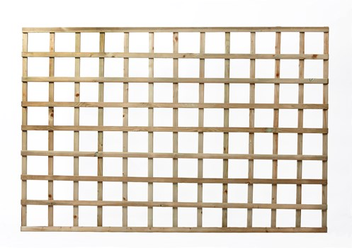 Independent Fencing Heavy Square Lattice Trellis Panel 1200 x