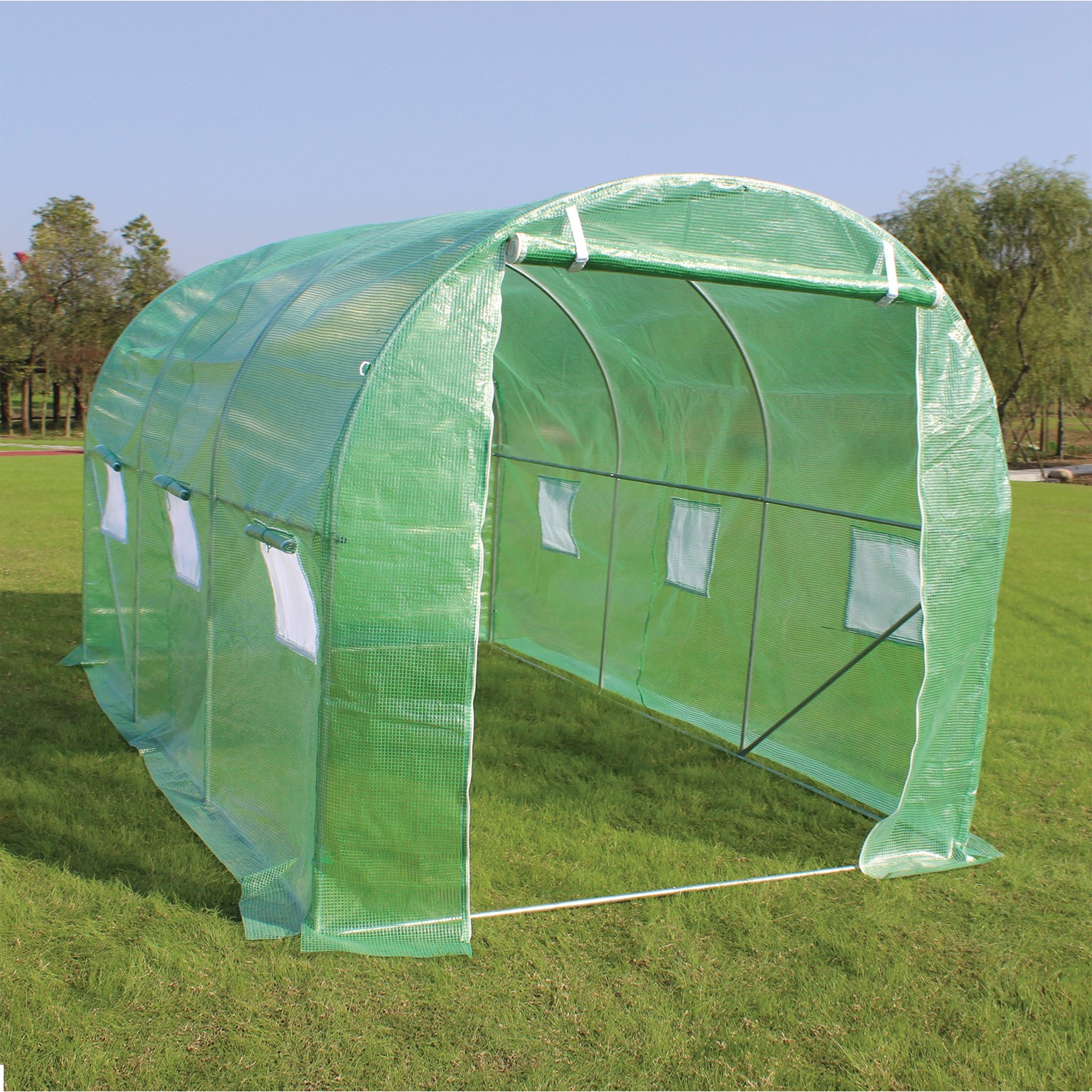ProPlus  Polytunnel Greenhouse with Steel Frame