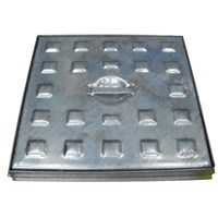 Manhole Cover (Galvanised) - 18in x 24in