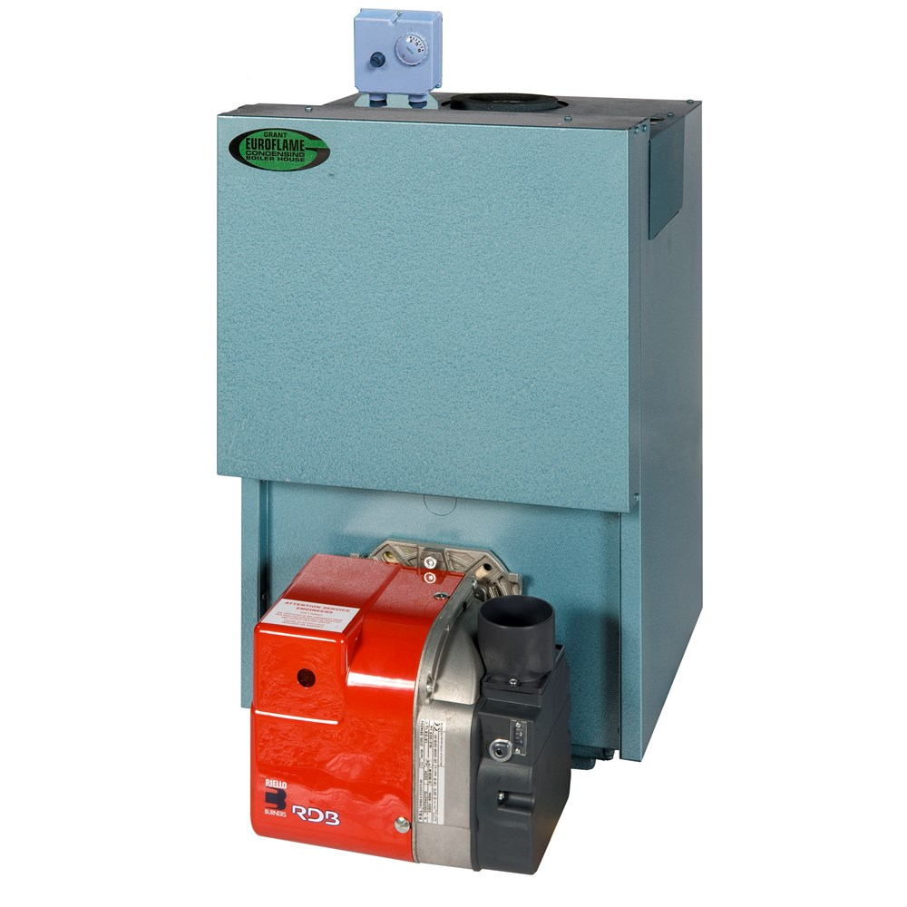 Grant Engineering Euroflame Boiler House 90-120 Condensing Oil ...