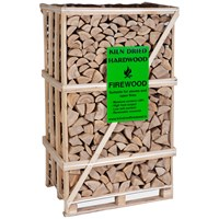 Independent Fencing  Kiln Dried Hardwood Firewood - 2m3 Crate