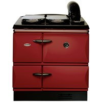 Stanley  Brandon 10 Cast Iron Oil Range Cooker - Claret