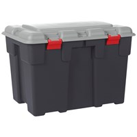 Allibert  Explorer Extra Large Storage Trunk 185 Litre - Grey