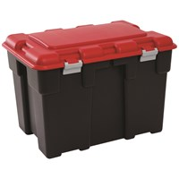 Alibert  Explorer Extra Large Storage Trunk 185ltr - Black & Red
