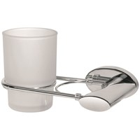 Bisk Side Double Tumbler & Holder