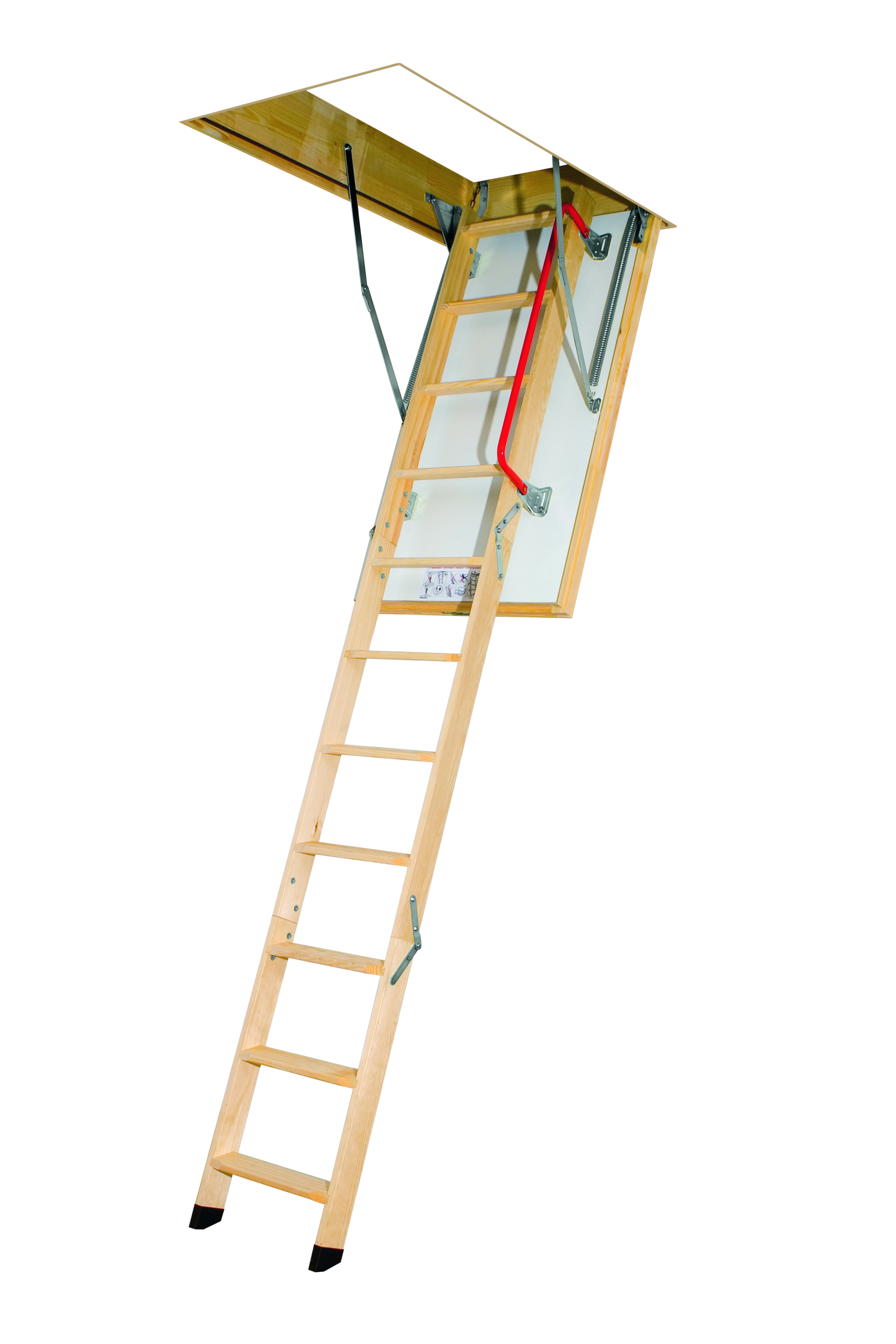 Fakro LTK Thermo 3 Section Folding Attic Ladder   2.8m