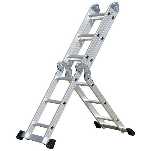 Excellence  Aluminium Multi-Purpose Ladder - 11ft
