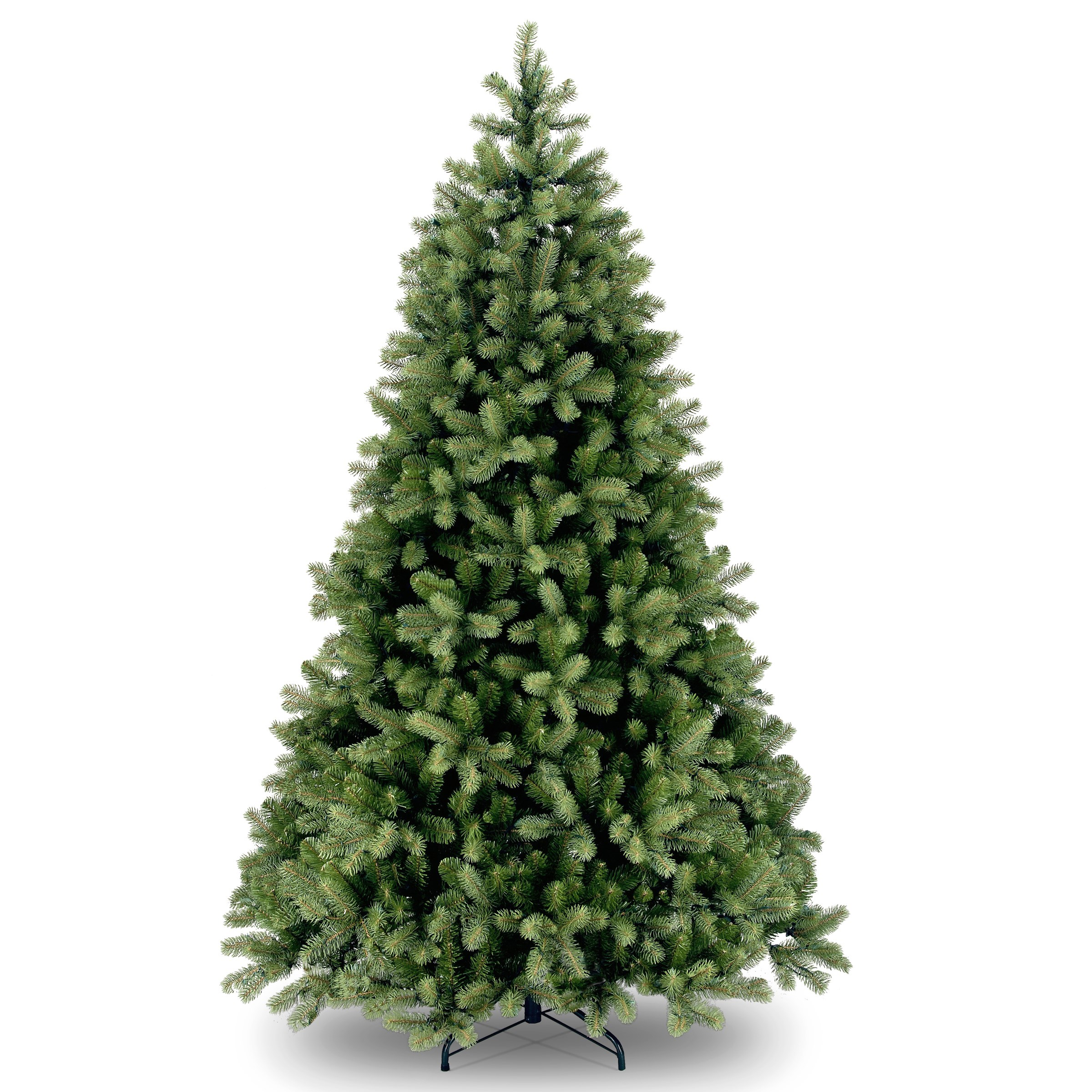 National Tree Company  Feel Real Bayberry Spruce Hinged Christmas Tree - 7ft 6in