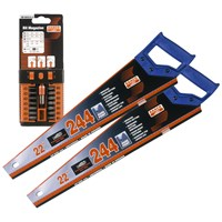 Bahco  244 Handsaw Twin Pack with 15 Piece Bit Set