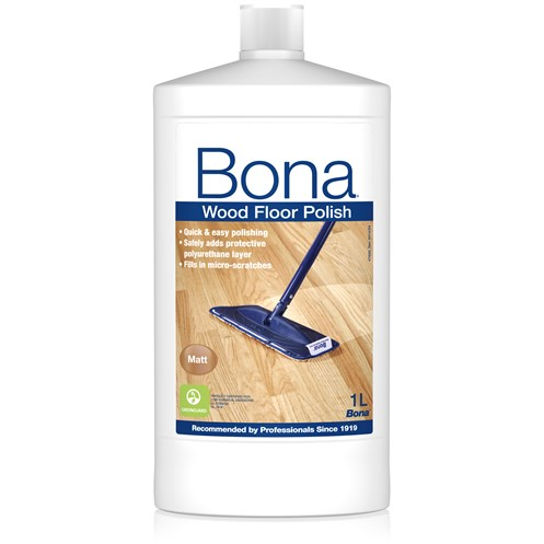 Bona  Wood Floor Polish Matt - 1 Litre