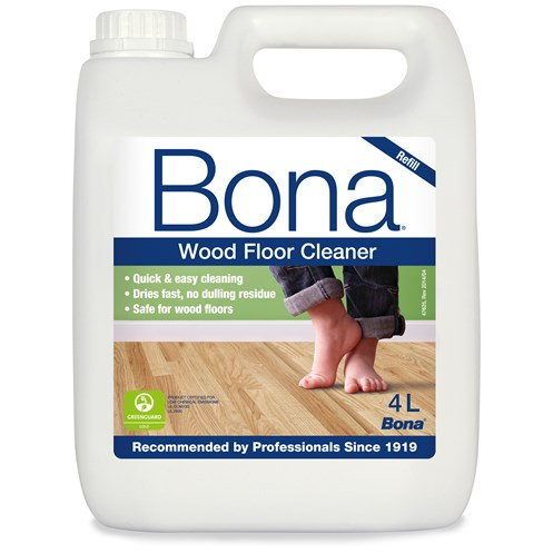 Bona Wood Floor Cleaner Refill 4 Litre Floor Cleaning Products