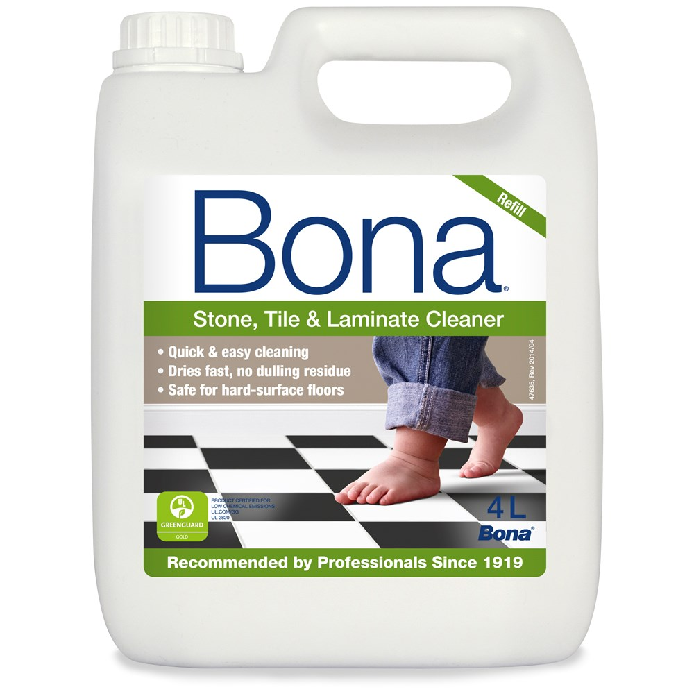 Bona Stone, Tile & Laminate Floor Cleaner Refill - 4 Litre | Floor ...