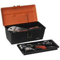 Bahco  Plastic Toolbox with Tray - 17in