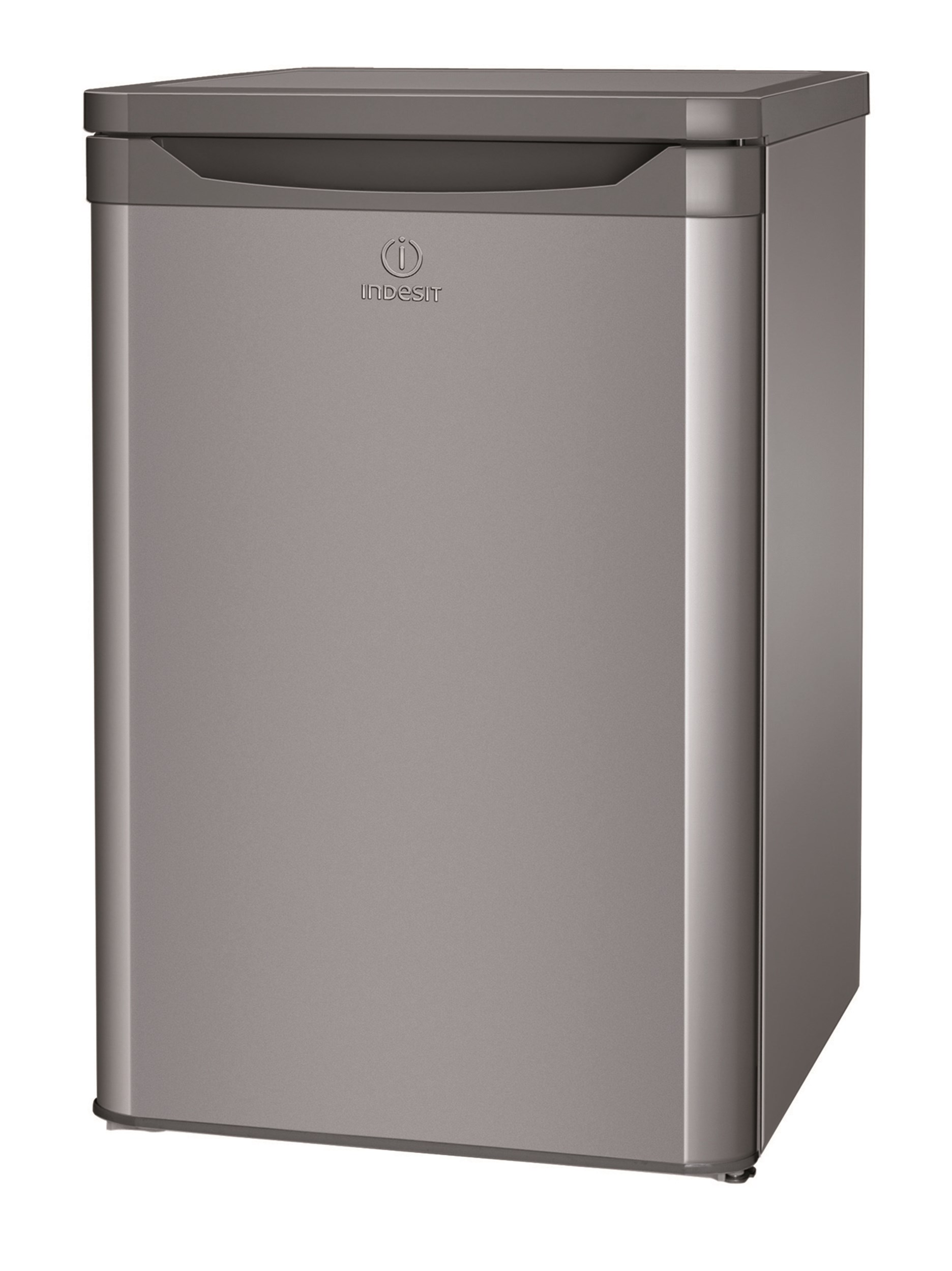Indesit  Silver Compact Fridge - TLAA10S
