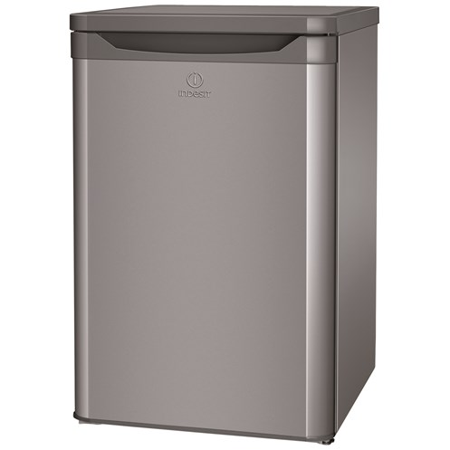 Indesit  Silver Compact Fridge - TFAA10S