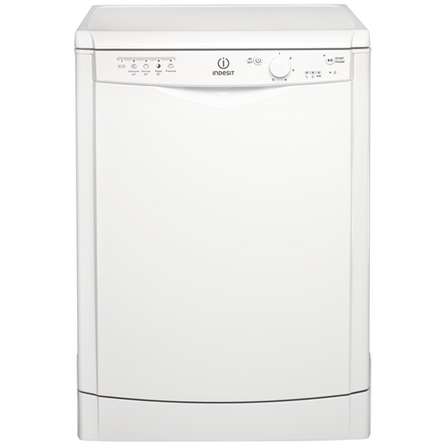 Indesit  White Dishwasher - DFG15B1