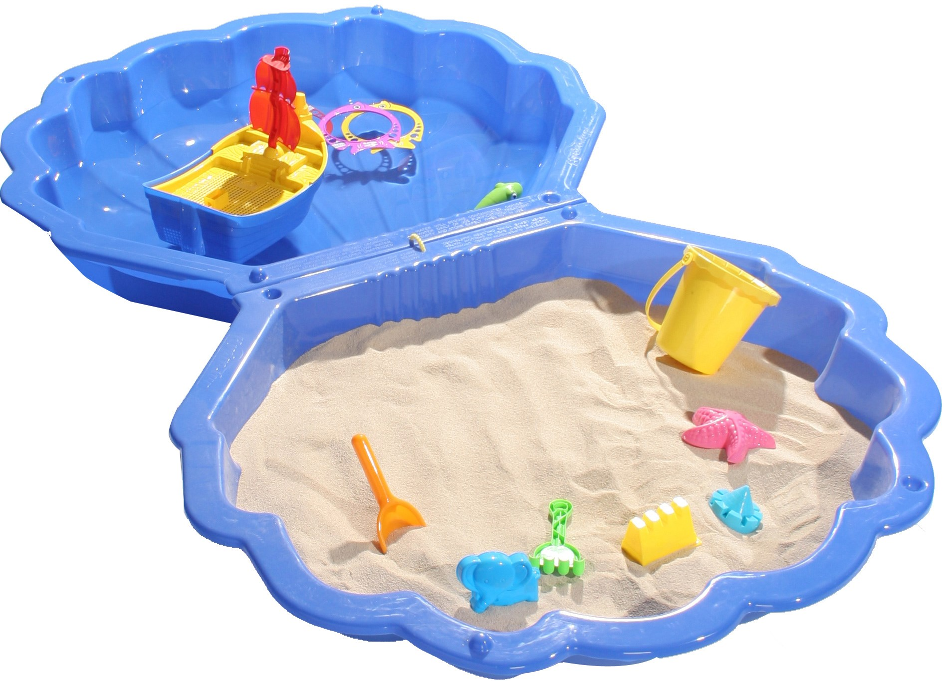Euroactive Clam Shaped Pool Amp Sandpit Swimming Pools
