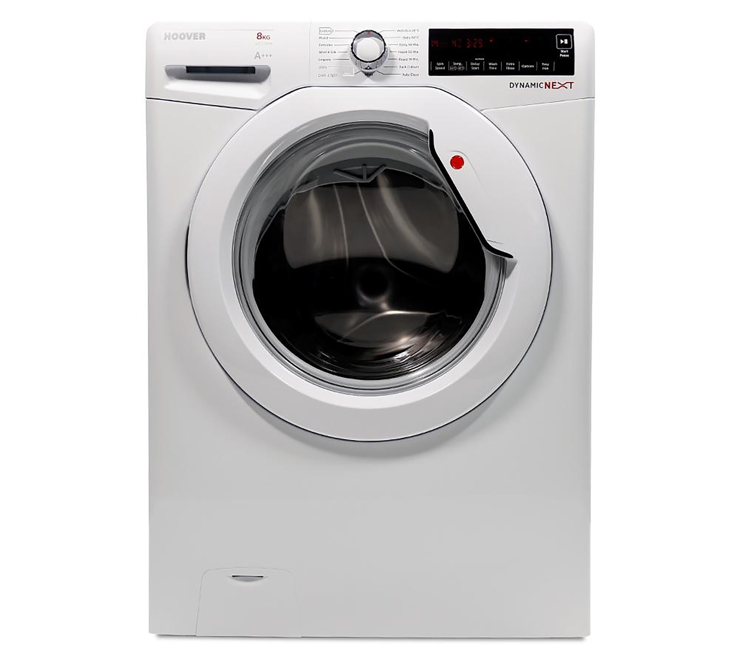 Hoover  8kg 1400rpm Washing Machine White - DXA 48W3