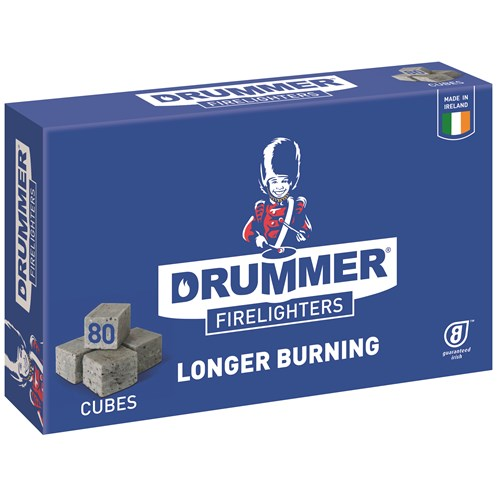 Drummer  Firelighters - 80 Pack
