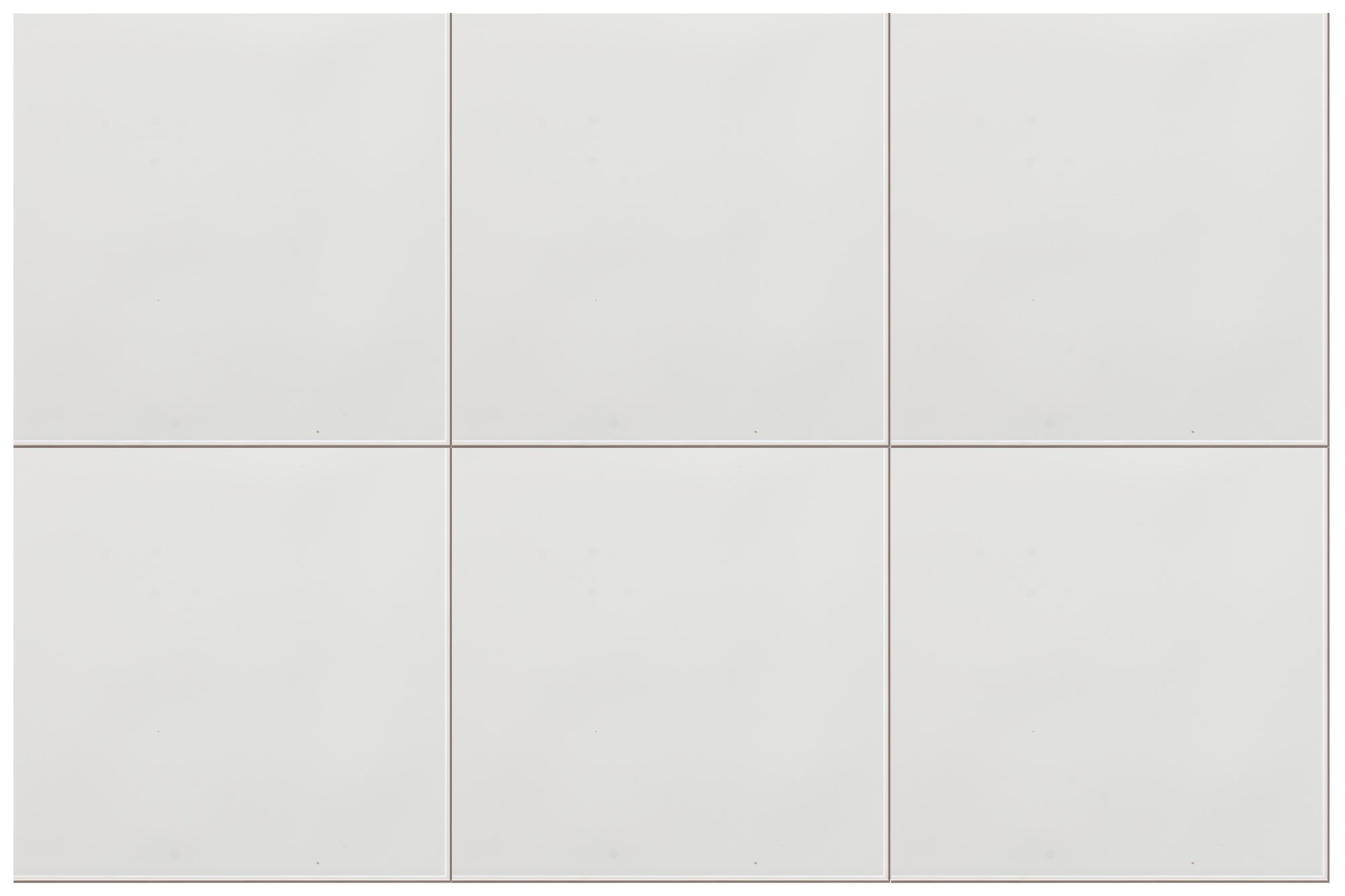 Plain White Tiles Pack 15x15cm Tiles