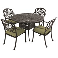 Hartman  Amalfi Cast Aluminium 4 Seater Round Furniture Set
