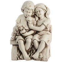 Children on Bench - 55cm