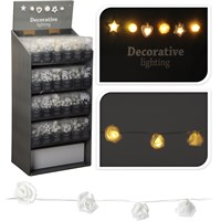 20 Decorative LED Lights 150pce Pre-Filled Display