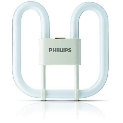 Philips  827 PLQ CFL Colour Light Bulb - 28W 2Pin