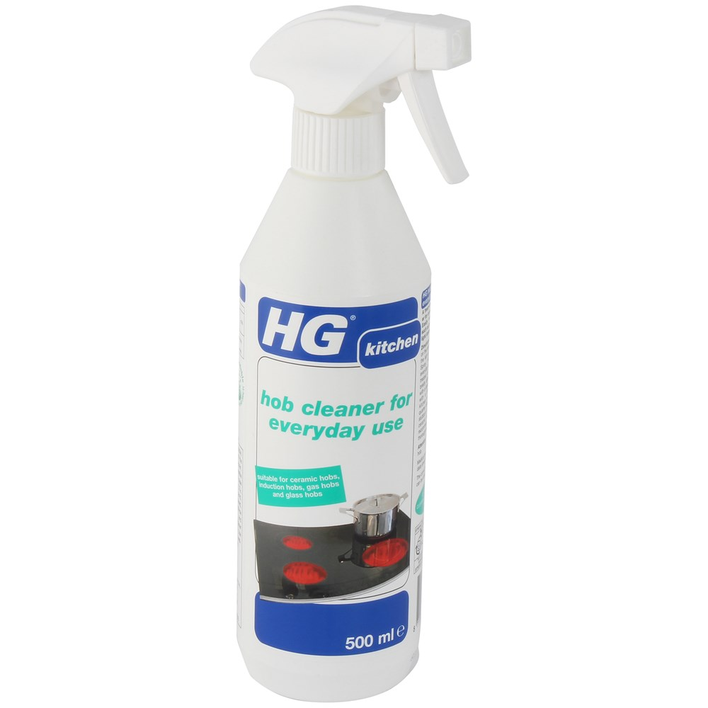 Hg Ceramic Hob Cleaner 500ml: HG Hob Cleaner For Everyday Use - 500ml