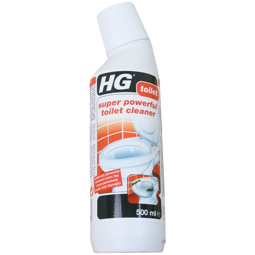 Hg Super Powerful Toilet Cleaner 500ml Home Cleaning