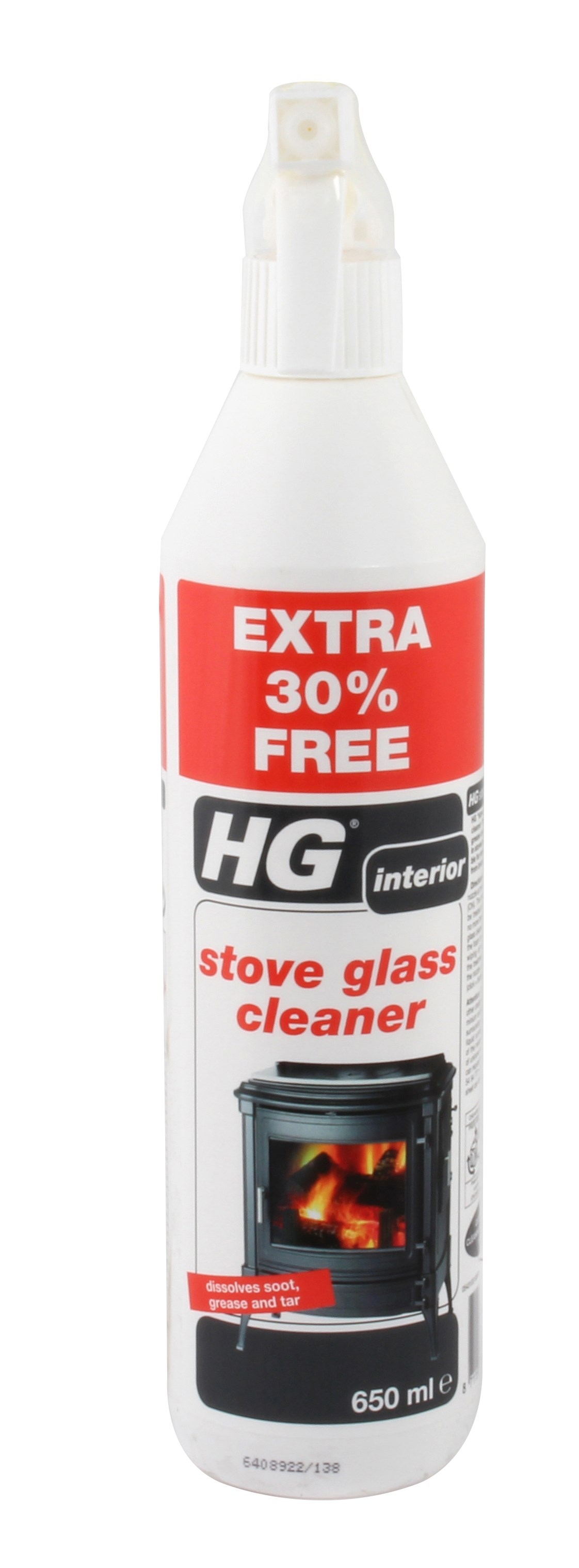 HG  Stove Glass Cleaner - 500ml + 30% Extra Free