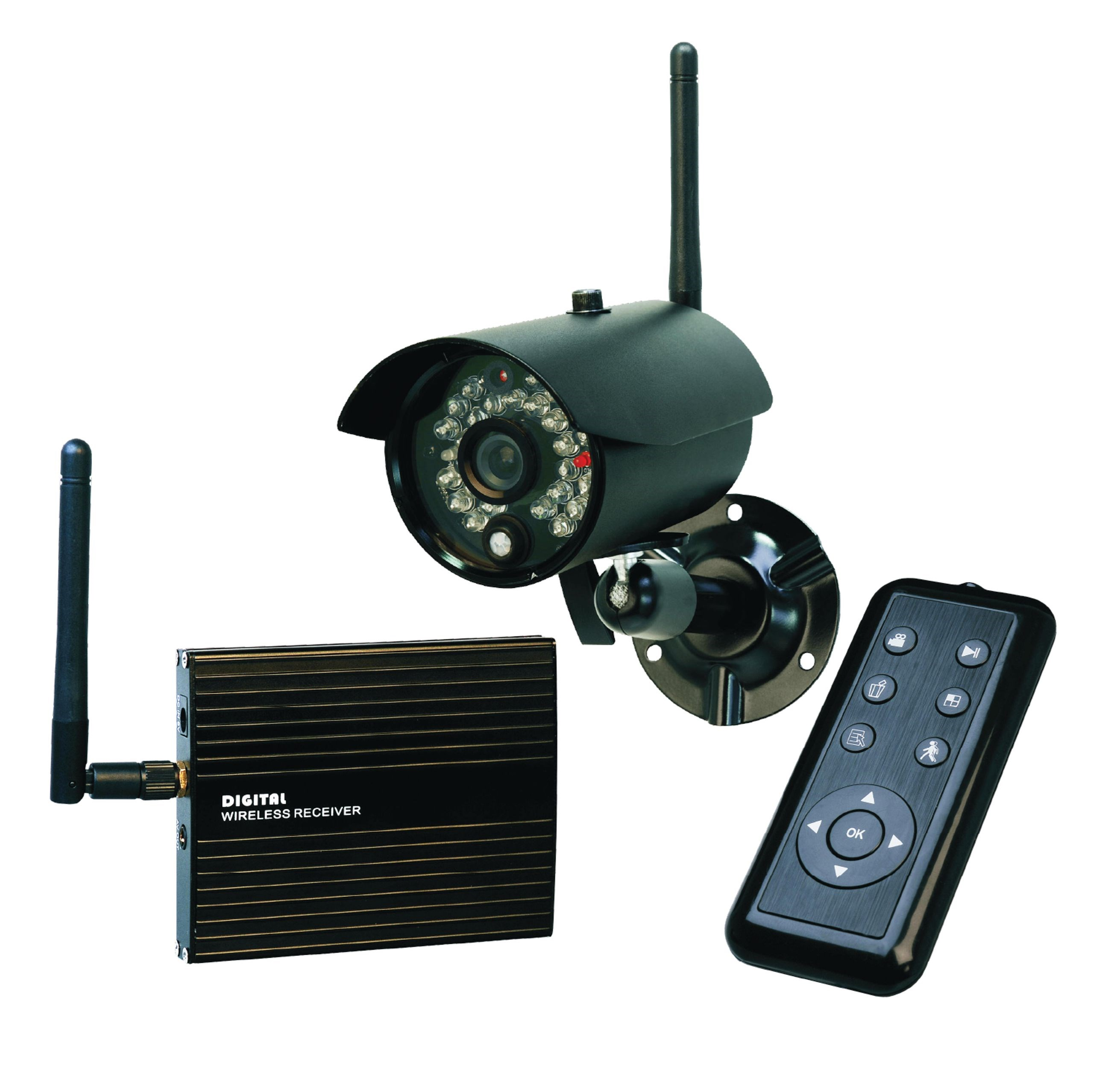 elro wireless digital recorder security camera set