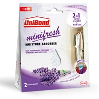 Unibond  Minifresh Moisture Absorber Sachet Pack of 2 - Lavendar