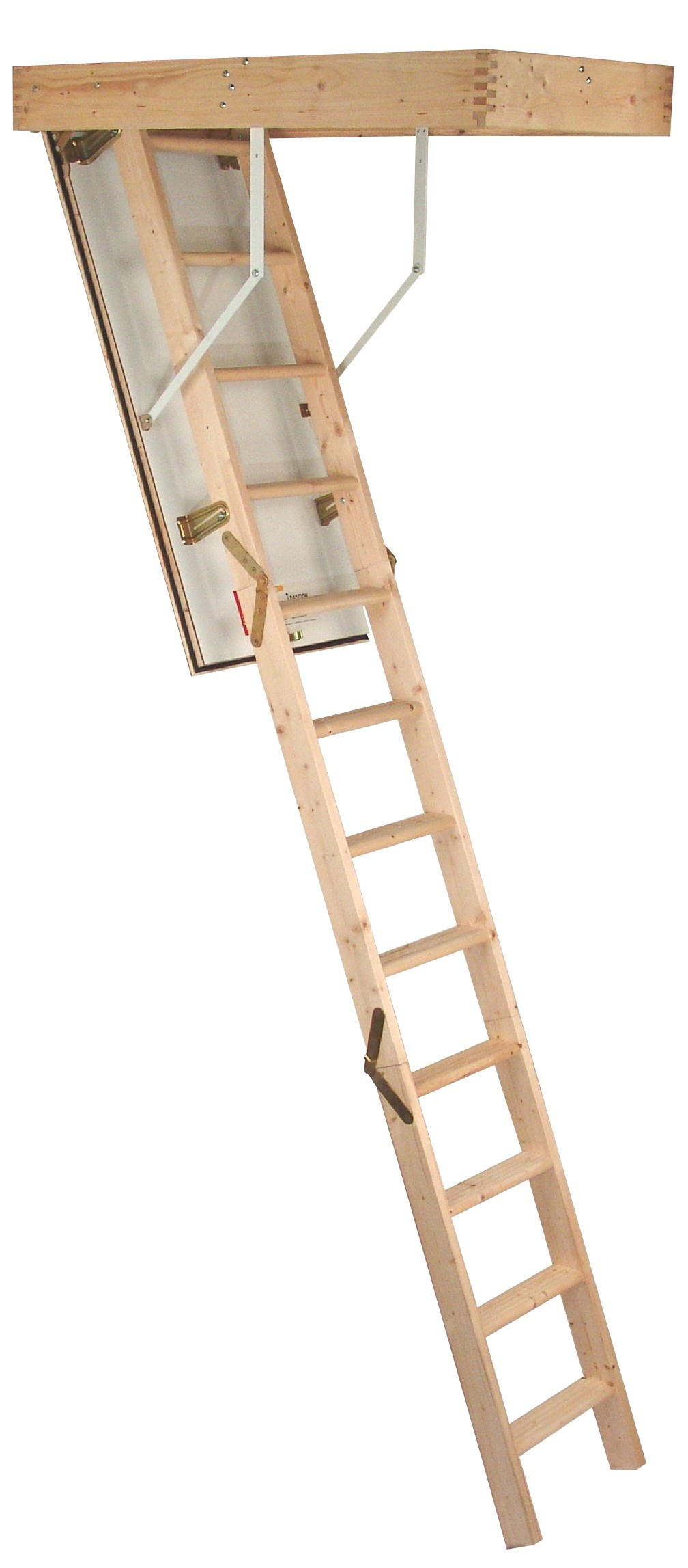 Complete  Timber Loft Ladder - 2.8m