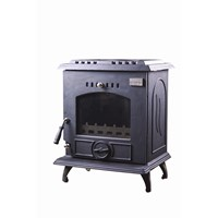 Blacksmith Bellows 8kW Non Boiler Stove - Matt Black