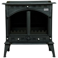 Blacksmith Farrier 23kW Non Boiler Stove - Matt Black