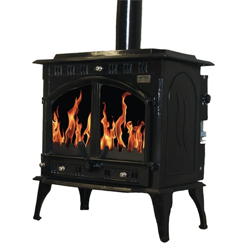 Blacksmith Farrier 23kW Boiler Stove - Black Enamel
