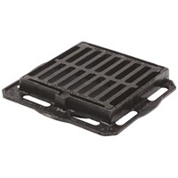Cast Iron Road Gully - 10in x 10in