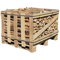 Homefire  Wood Crate Birch - 400kg (Approx)